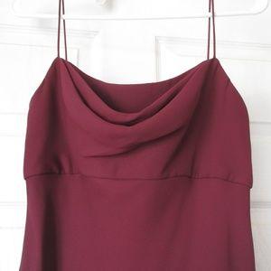 6 12 Michaelangelo Wine Burgundy Evening Gown